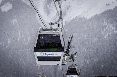 Курорт«Архыз» Зеленчукского района Карачаево-Черкесии готовится к началу зимнего горнолыжного сезона